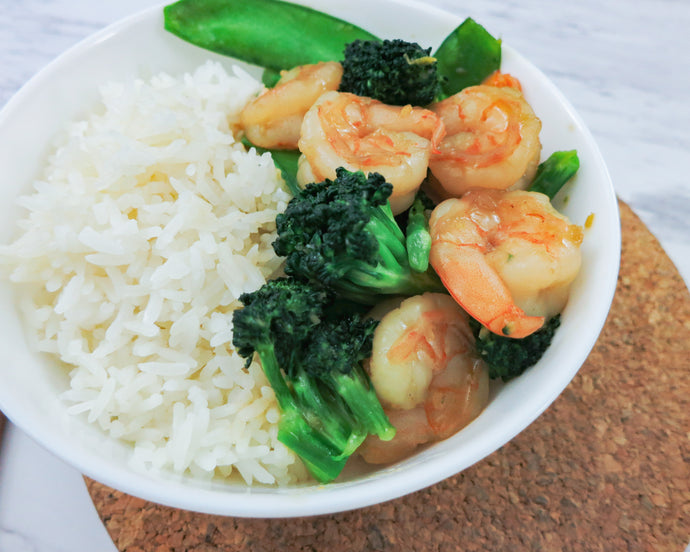 Shrimp & Veggie Stir Fry
