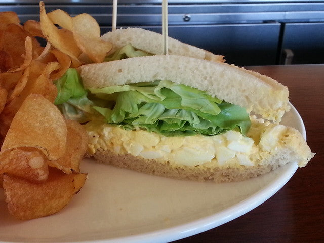 Spiced Up Egg Salad Sandwich
