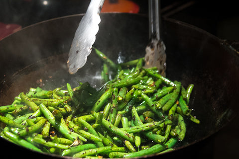 stir fried string beans