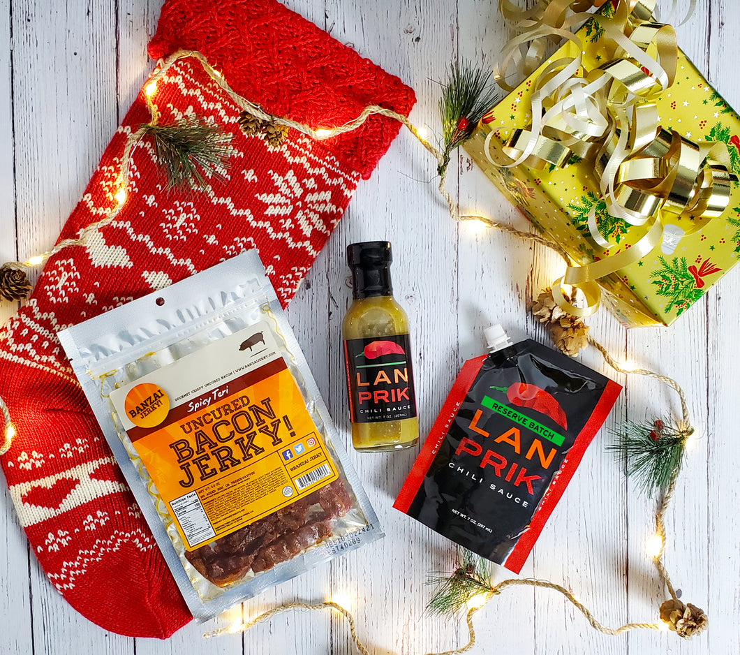 Wrapped Gift Set - Bacon Spicy Set (🎁 🥓)