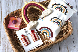 Iced Vovo & Rainbow Lover Gift Set - Curated Handmade Gifts
