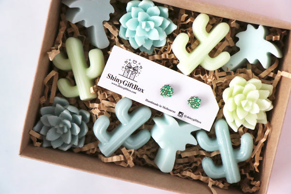 Succulent Lover Gift Set - Curated Handmade Gifts