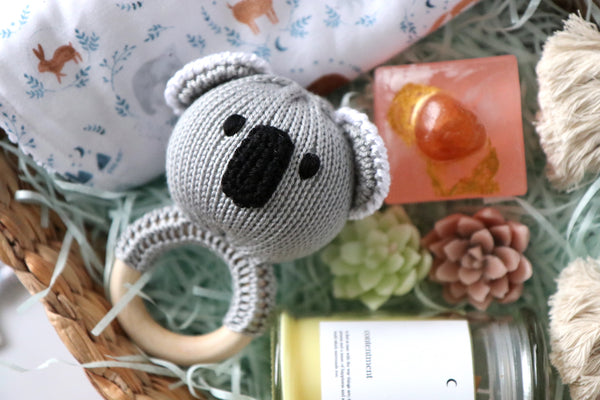 Baby & Mum Neutral Gift Set - Curated Handmade Gifts