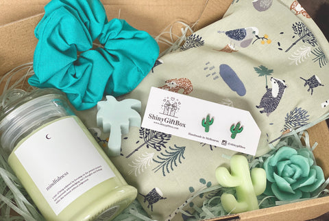 Cactus & Green Lover Gift Set - Curated Handmade Gifts