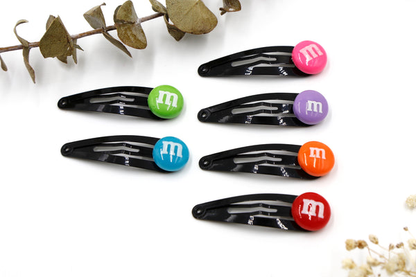 M&M Hair Clips
