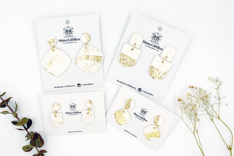 Pure White & Gold Collection
