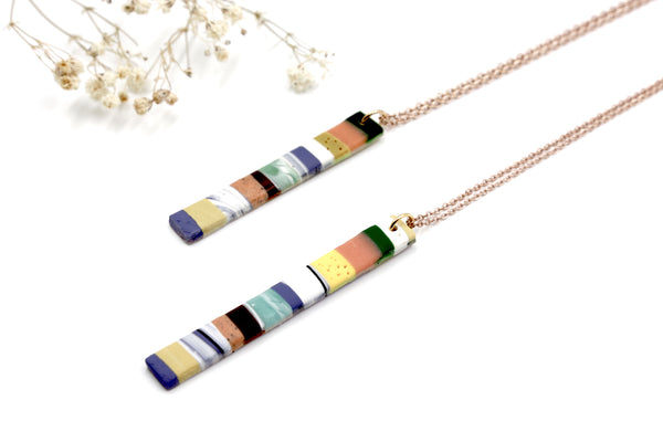 Colour of Love Gold Necklace