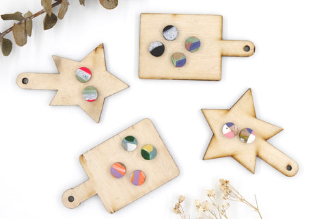 Colourful Mini Studs Collection