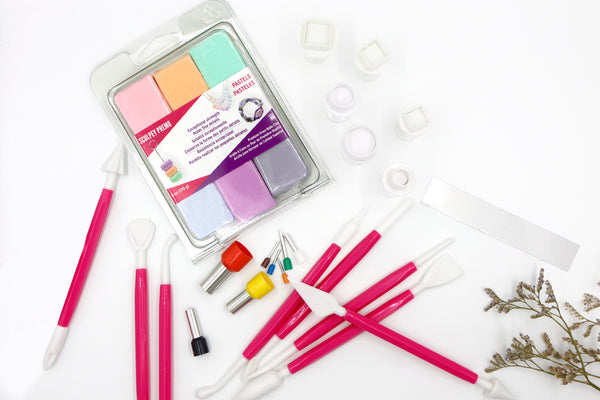 Polymer Clay Tools & Cutters Bundle Kit