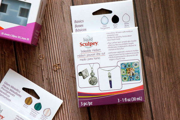 Liquid Sculpey® 3D Jewellery Mold / Mould Start Up Kit