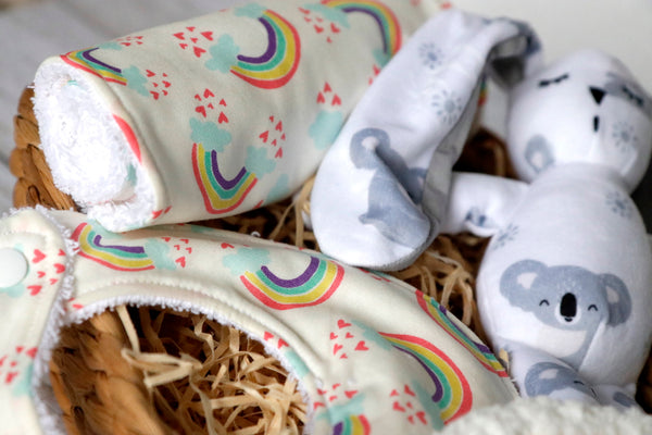 Neutral Baby Rainbow Gift Set - Curated Handmade Gifts