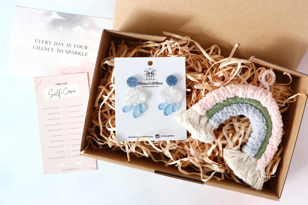 Earring Lovers Gift Set - Rainbow & Rainy Day - Curated Handmade Gifts
