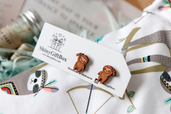 Sloth Lover Gift Set - Curated Handmade Gifts