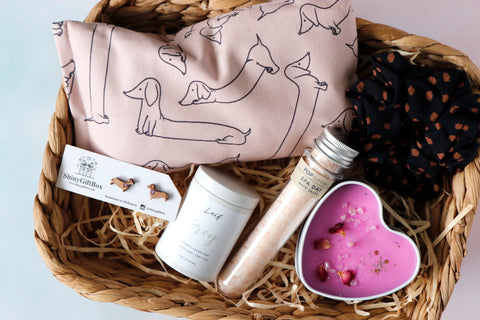 Dachshund / Sausage Dog Lover Gift Set - Curated Handmade Gifts