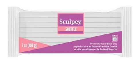 Sculpey Souffle Igloo (White) 198g 7oz LARGE BLOCK