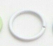 10pc x 10mm Pastel Colour Jump Rings