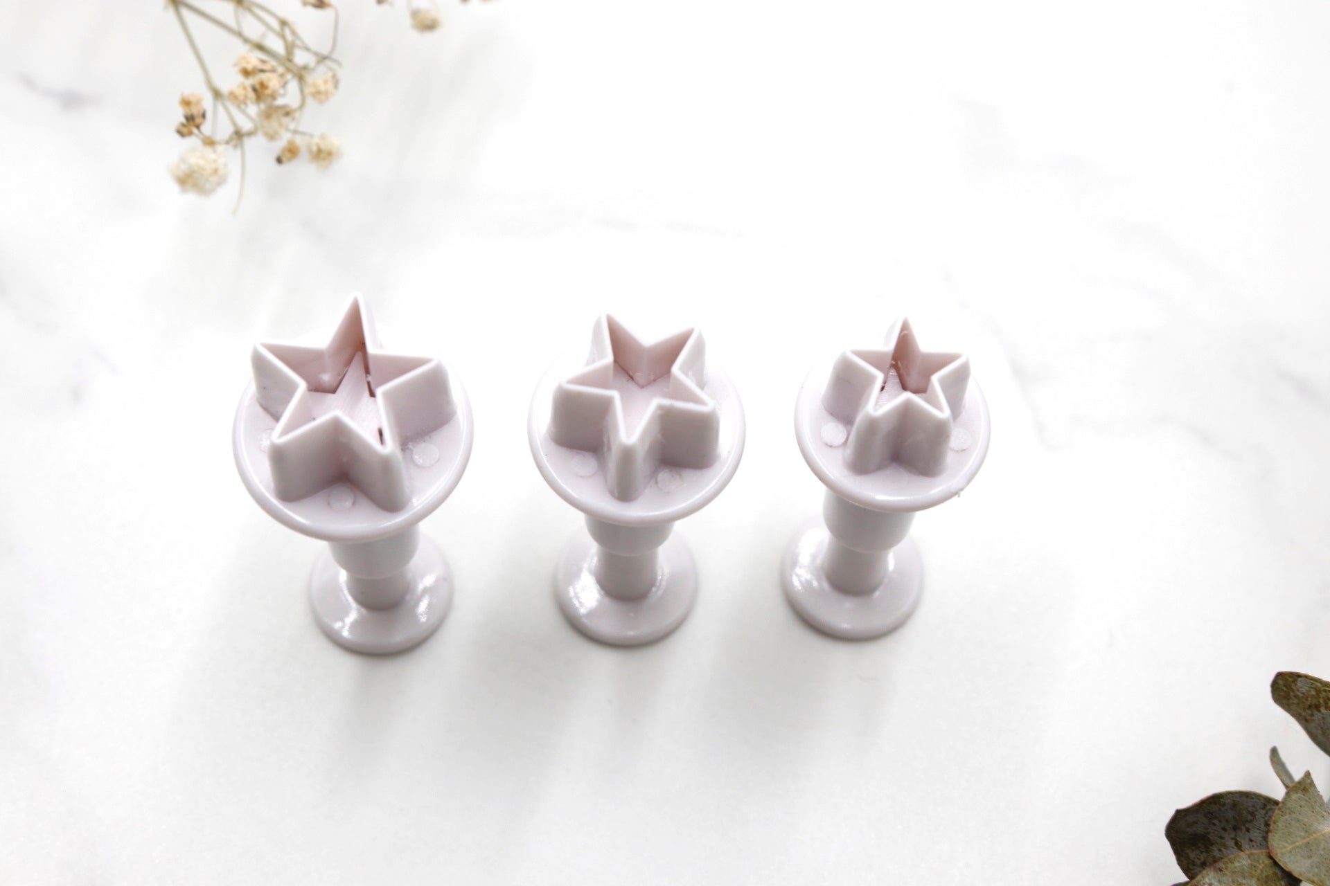 Mini Stars Clay Cutters 3pc