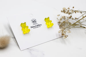 Gummy Bear Studs -  Yellow