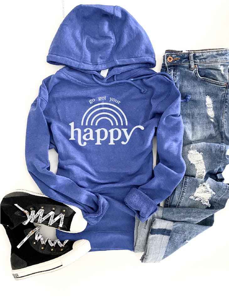 *Preorder* Go Get Your Happy Graphic Hoodie