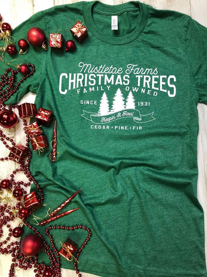 *Preorder* Mistletoe Farms Graphic Short Sleeve Tee