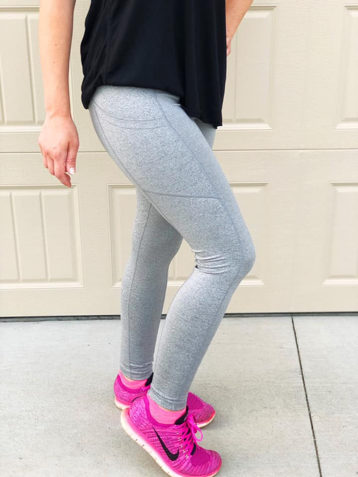 Eluminary Casualetic Pocket Leggings Athleisure