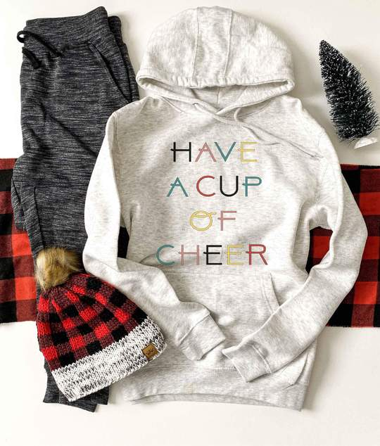 *Preorder* Have a Cup of Cheer Graphic Hoodie