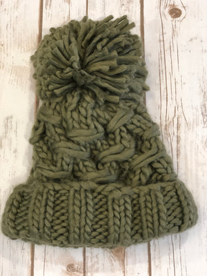Cargo Knit Cozy Hat - The Modern Gypsy Collection