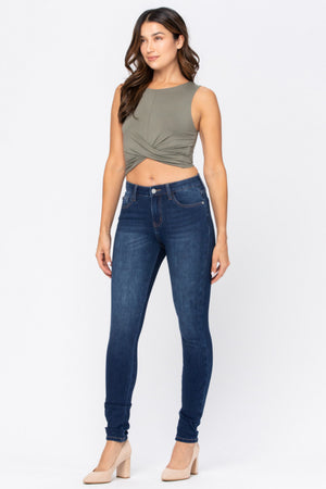 Judy Blue THERMADENIM Non Distressed Skinny Jeans