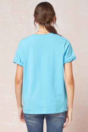 On A Roll Short Sleeve Top