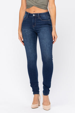 Judy Blue THERMADENIM Non Distressed Skinny Jeans88113