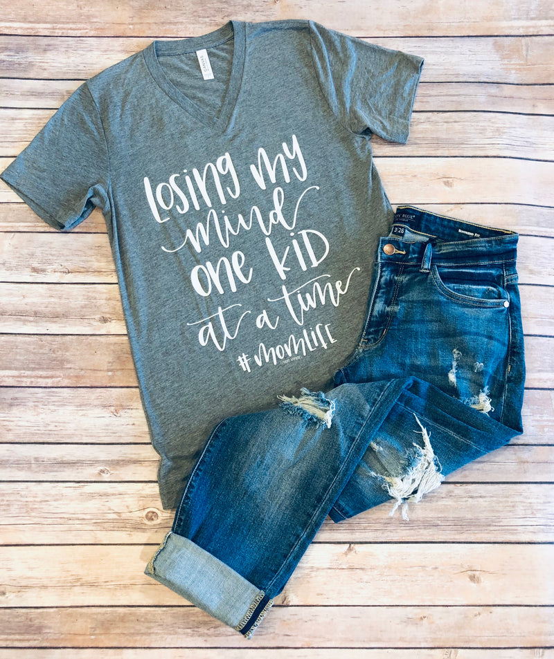 Losing My Mind One Kid At A Time - Graphic Tee