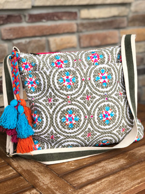 Medallion Cross Body Bag - The Modern Gypsy Collection
