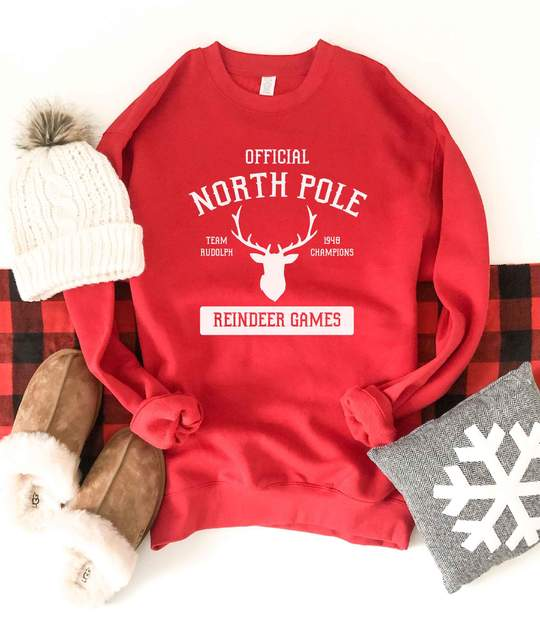 *Preorder* North Pole Graphic Sweatshirt