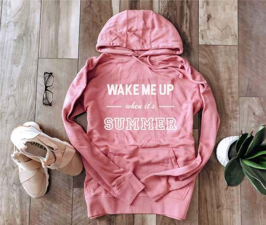 *Preorder* Wake Me Up French Terry Graphic Hoodie