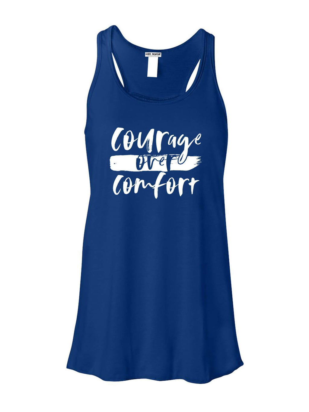 Courage Over Comfort - Royal