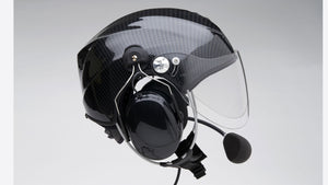 Icaro Solar X Paramotoring Helmet from SkySchool in Black from SkySchool