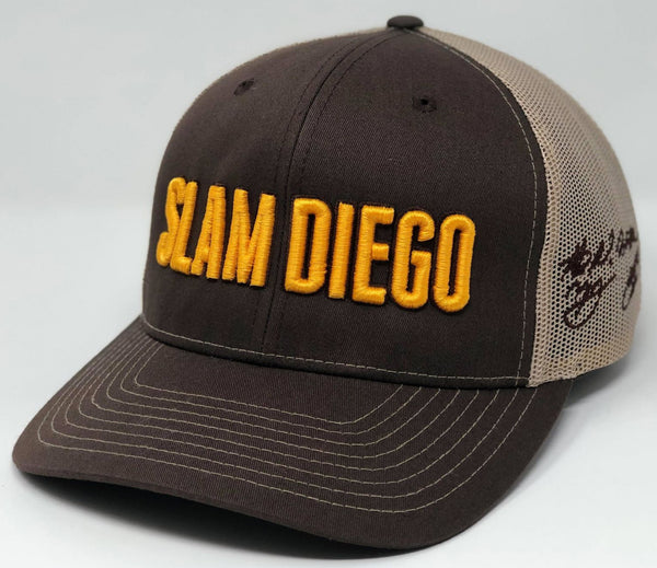 SLAM DIEGO Hat - Brown/Sand Trucker