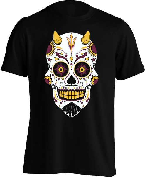 Arizona State Sun Devils Sugar Skull - Mens