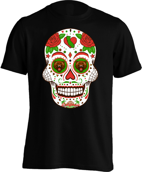 California Sugar Skull - Mens Tee