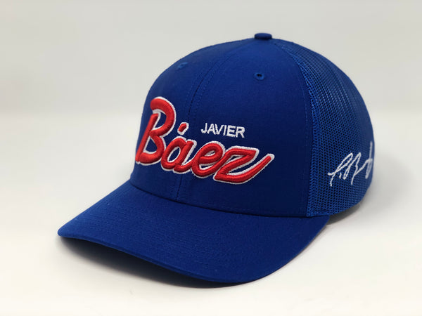 Javier Baez Script Hat - Royal Trucker