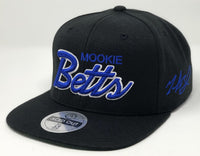 Mookie Betts Script Hat - Black Snapback