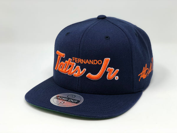 Fernando Tatis Jr Script Hat - Navy Snapback (Limited Edition - 23)