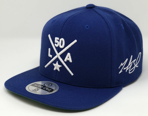 Mookie Betts Compass Hat - Royal Snapback