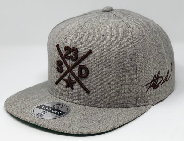 Fernando Tatis Jr Compass Hat - Grey Snapback