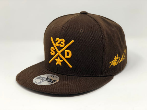Fernando Tatis Jr Compass Hat - Brown Flatbill Snapback