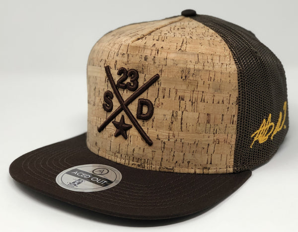 Fernando Tatis Jr Compass Hat - Brown Cork Snapback