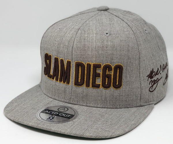 SLAM DIEGO Hat - Grey Snapback