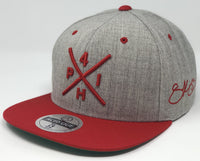 Scott Kingery Compass Hat - Grey/Red Snapback