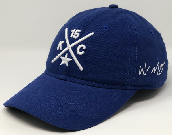 Whit Merrifield Compass Hat - Royal Dad Hat