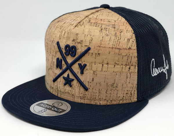 Aaron Judge Compass Hat - Cork/Navy Trucker